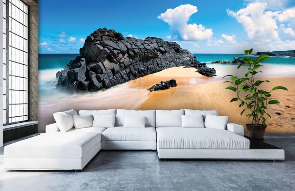 Beach wallpaper - Beach in Hawaii - Living room 5