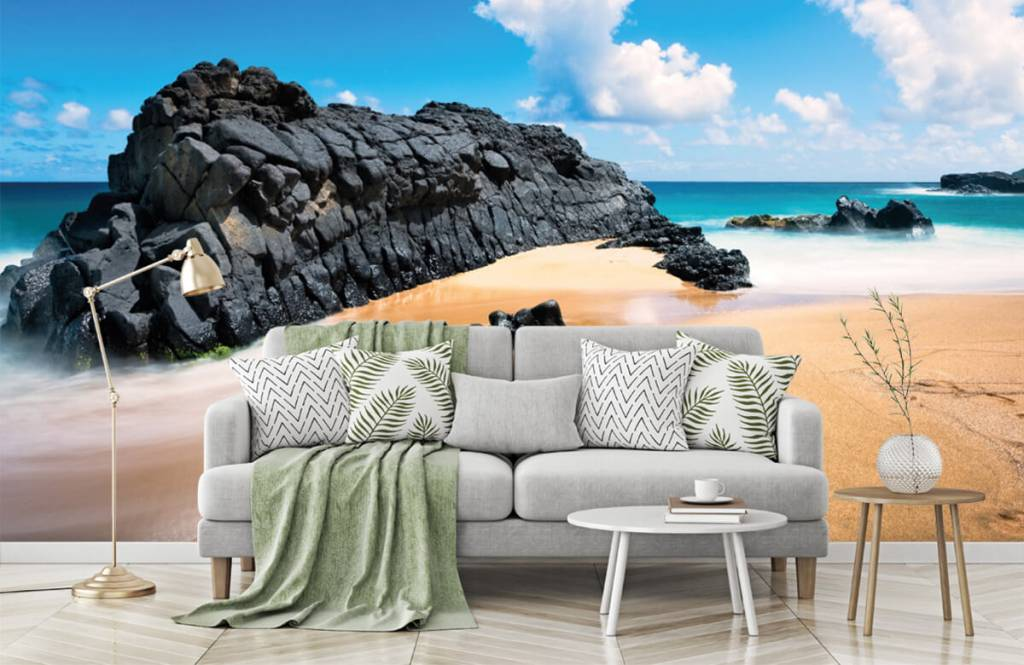 Beach wallpaper - Beach in Hawaii - Living room 7
