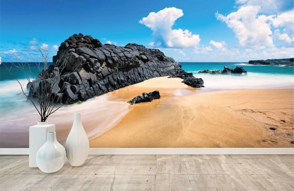 Beach wallpaper - Beach in Hawaii - Living room 8