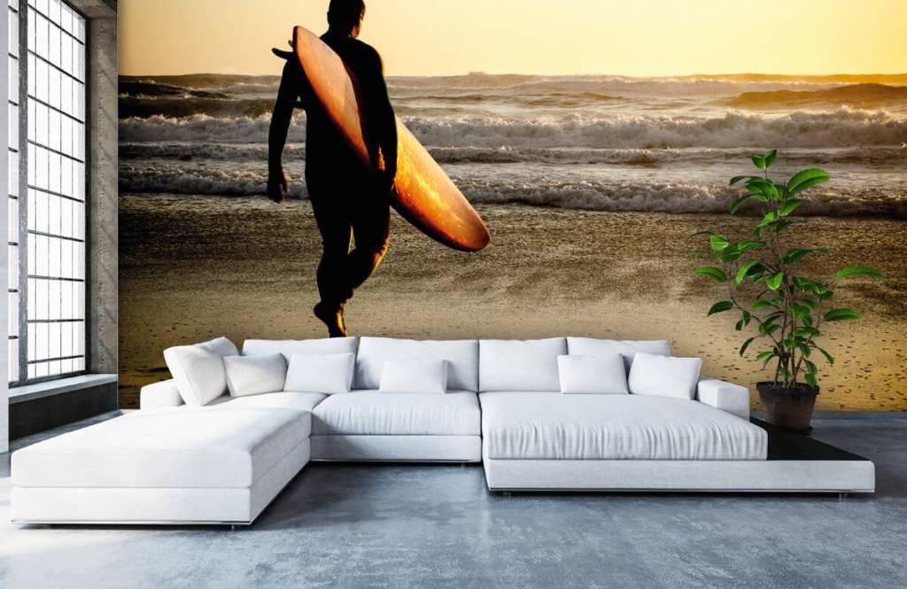 Beach wallpaper - Surfer - Teenage room 6