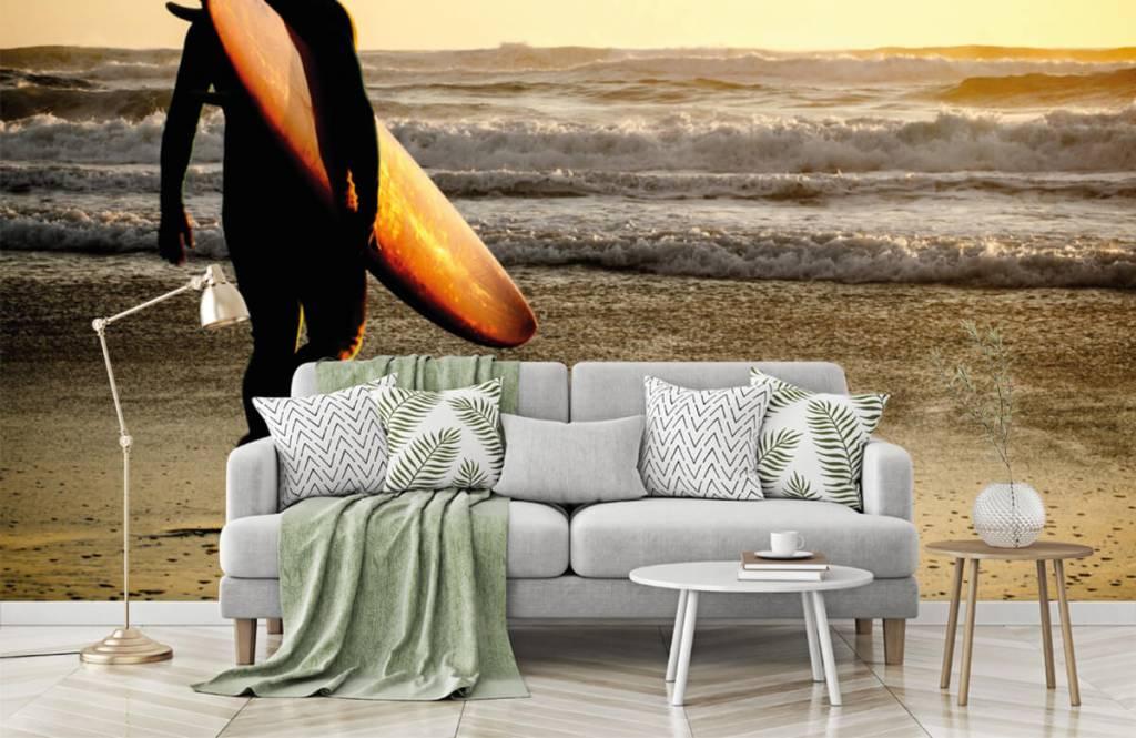 Beach wallpaper - Surfer - Teenage room 8