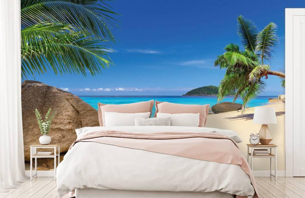 Beach wallpaper - Tropical island - Hobby room 2