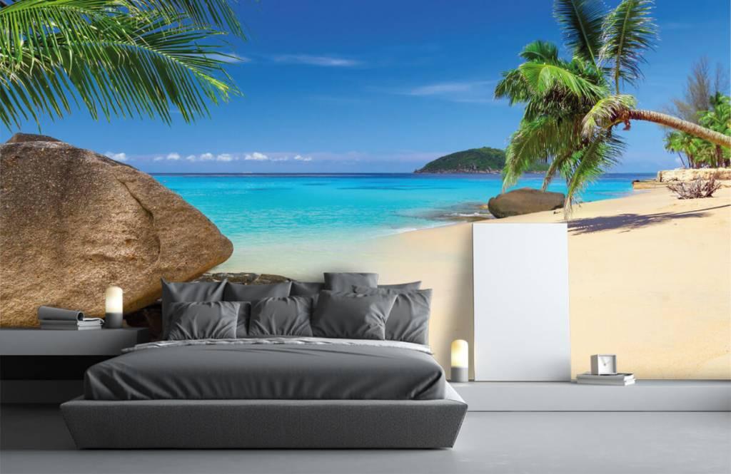 Beach wallpaper - Tropical island - Hobby room 4