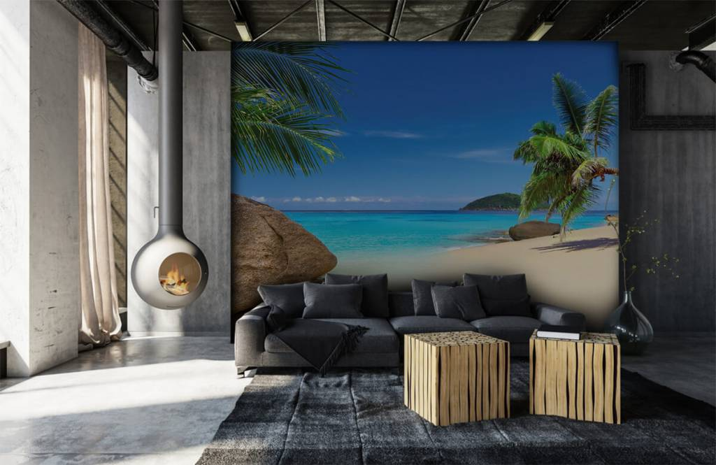 Beach wallpaper - Tropical island - Hobby room 7