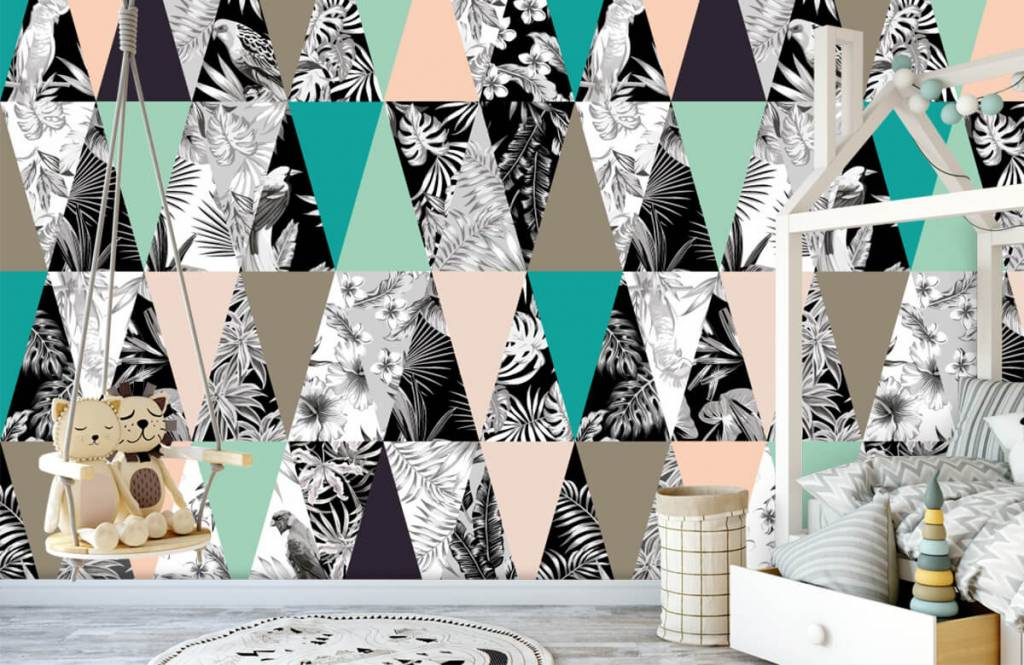 Other - Tropical pattern - Children's room 3