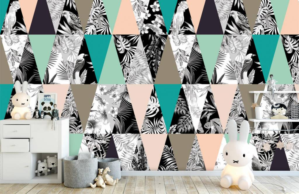 Other - Tropical pattern - Children's room 4
