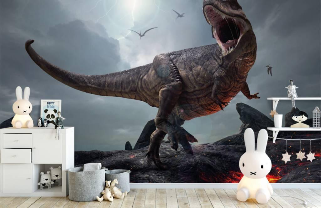 Dinosaurs - Tyrannosaurus Rex - Children's room 2
