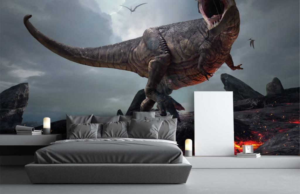 Dinosaurs - Tyrannosaurus Rex - Children's room 4