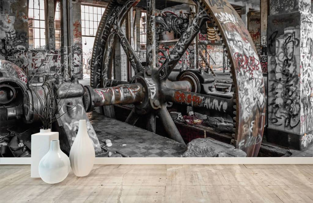 Architecture - Abandoned factory - Teenage room 1