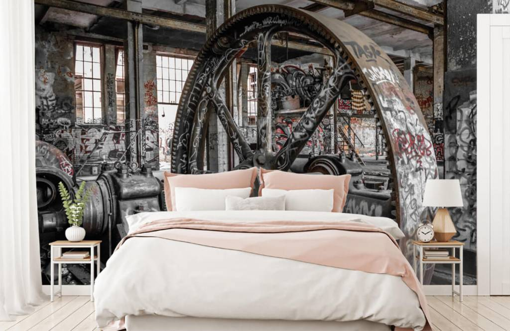 Architecture - Abandoned factory - Teenage room 2