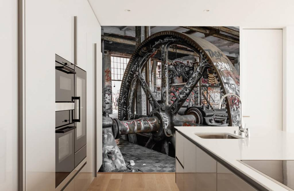 Architecture - Abandoned factory - Teenage room 4