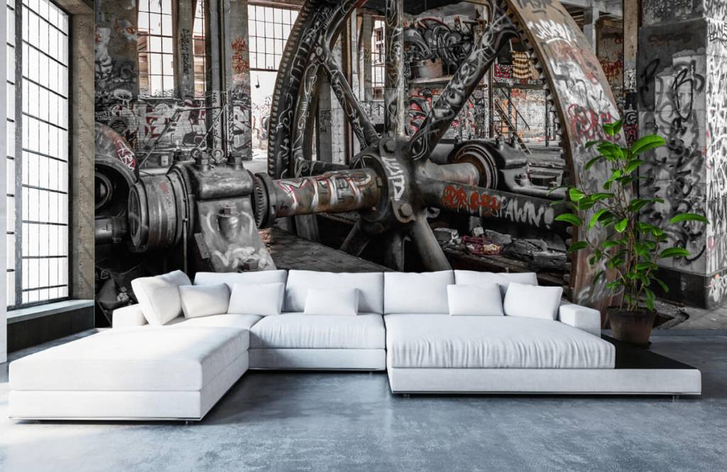 Architecture - Abandoned factory - Teenage room 6