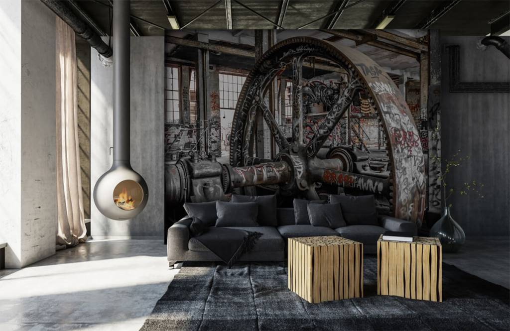 Architecture - Abandoned factory - Teenage room 7