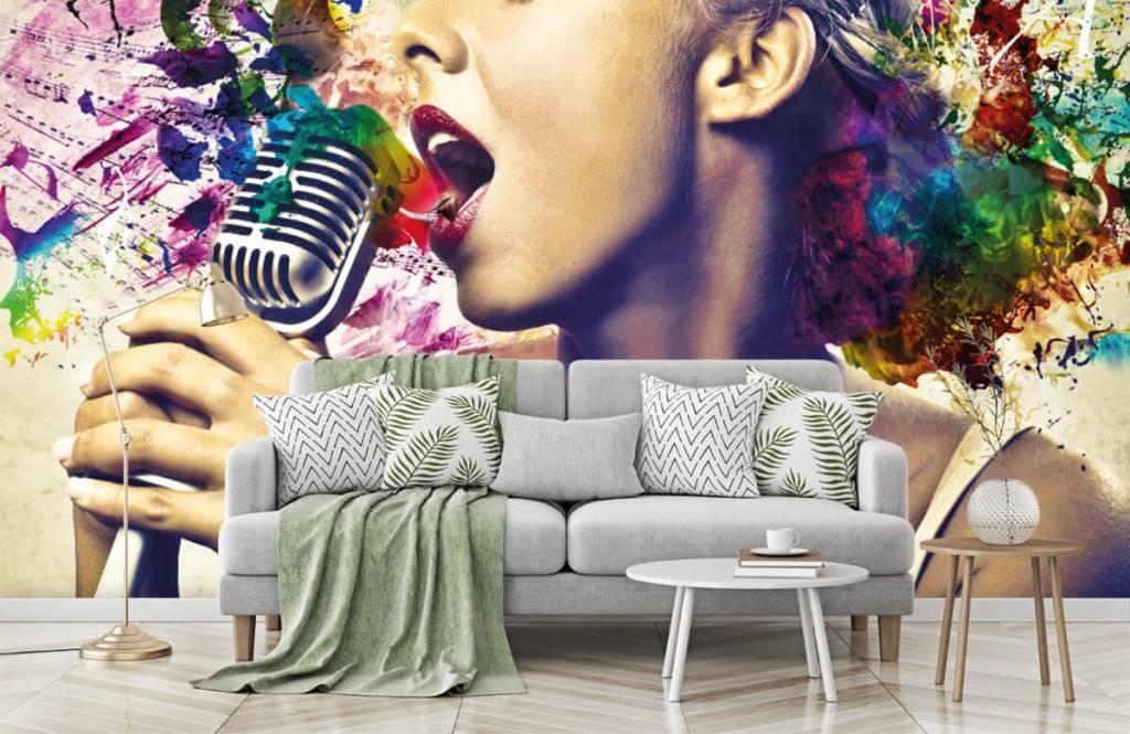 Modern - Vintage singer - Teenage room 7