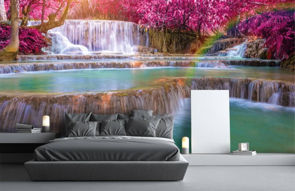 Waterfalls - Waterfalls in the jungle - Teenage room 2