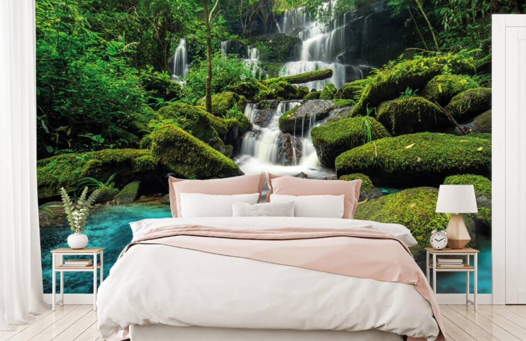 Waterfalls - Waterfall in a jungle - Hobby room 2