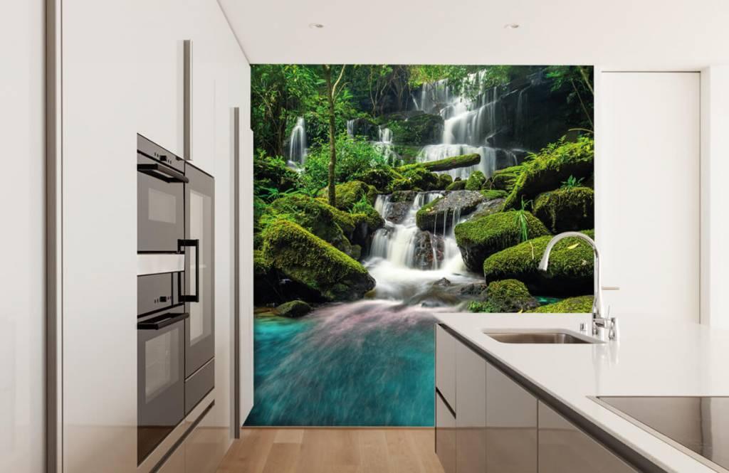 Waterfalls - Waterfall in a jungle - Hobby room 3