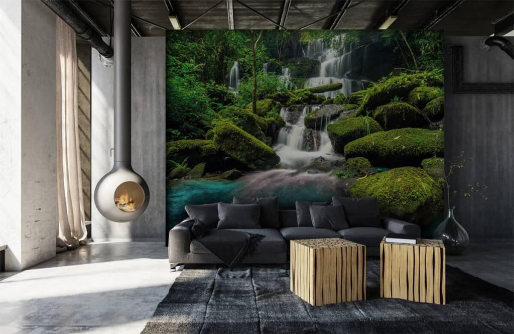 Waterfalls - Waterfall in a jungle - Hobby room 6