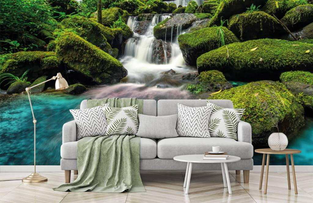 Waterfalls - Waterfall in a jungle - Hobby room 7