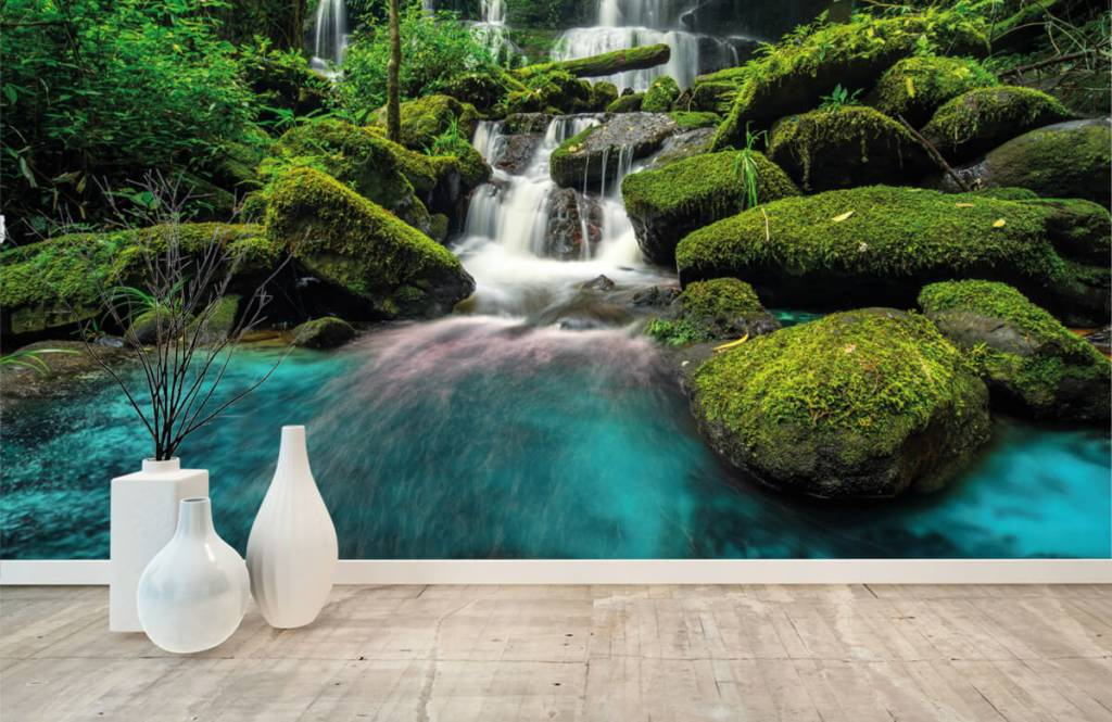 Waterfalls - Waterfall in a jungle - Hobby room 8