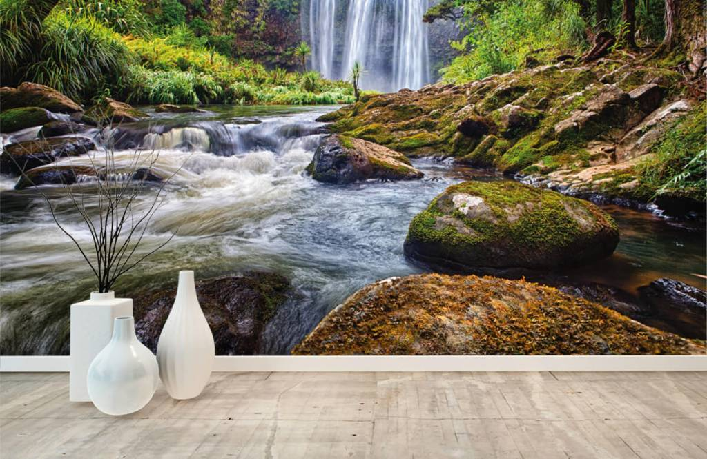 Waterfalls - Waterfall with stones - Management 7