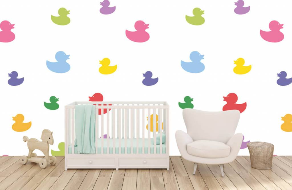 Other - Colored bath ducks - Baby room 6