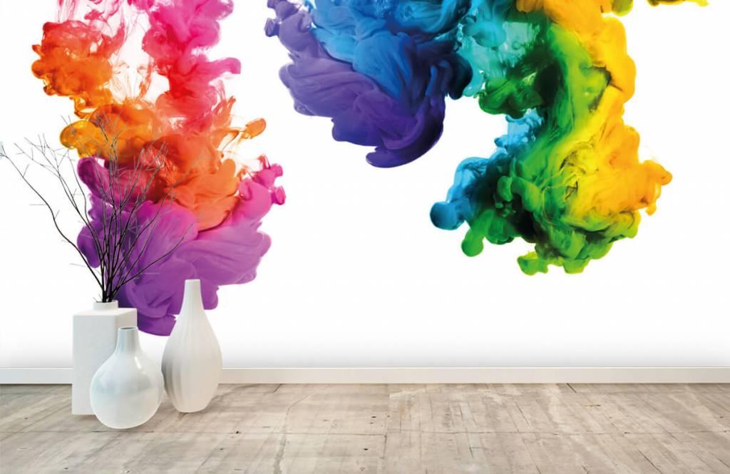 Abstract - Colored smoke - Hobby room 1