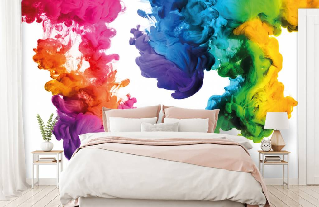Abstract - Colored smoke - Hobby room 2