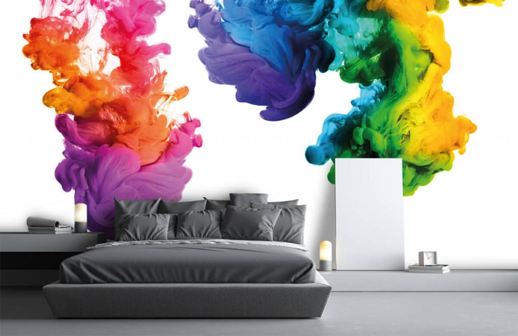 Abstract - Colored smoke - Hobby room 3
