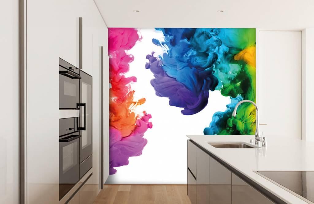 Abstract - Colored smoke - Hobby room 4