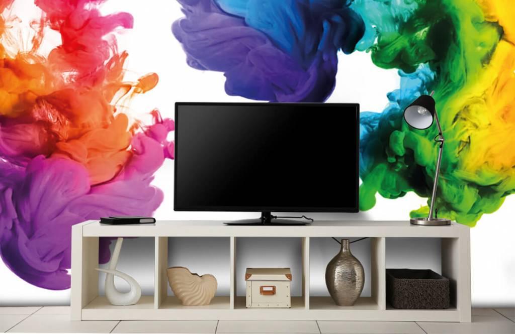 Abstract - Colored smoke - Hobby room 5