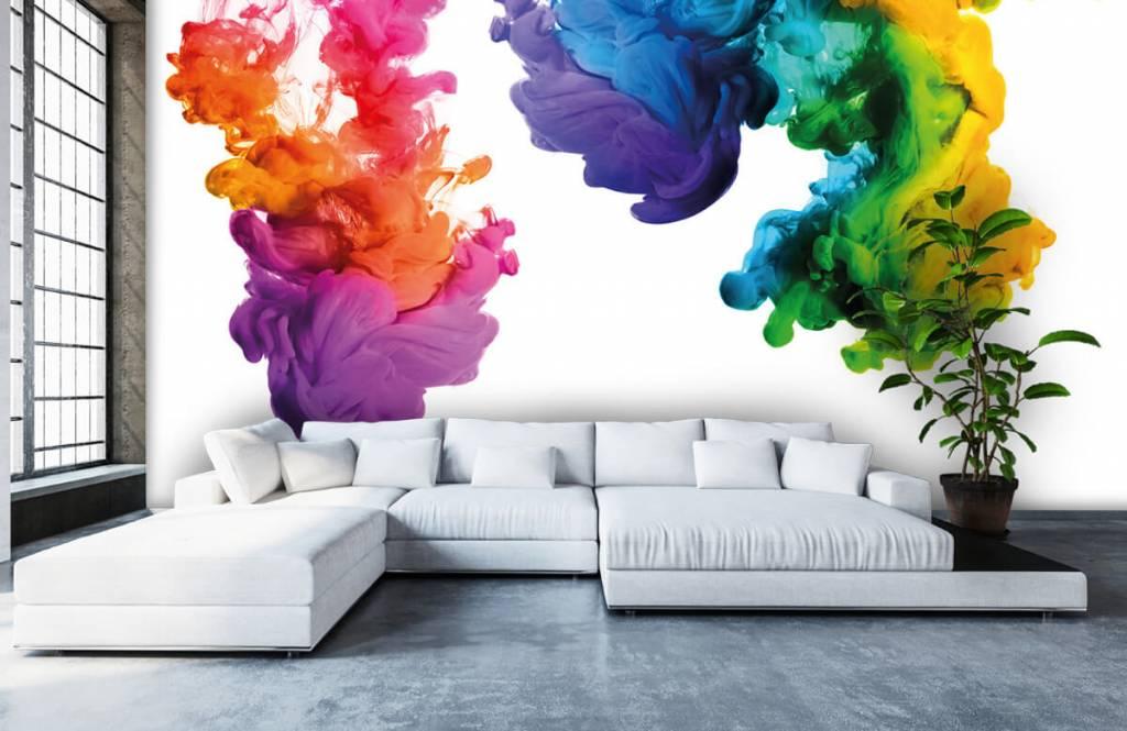 Abstract - Colored smoke - Hobby room 6