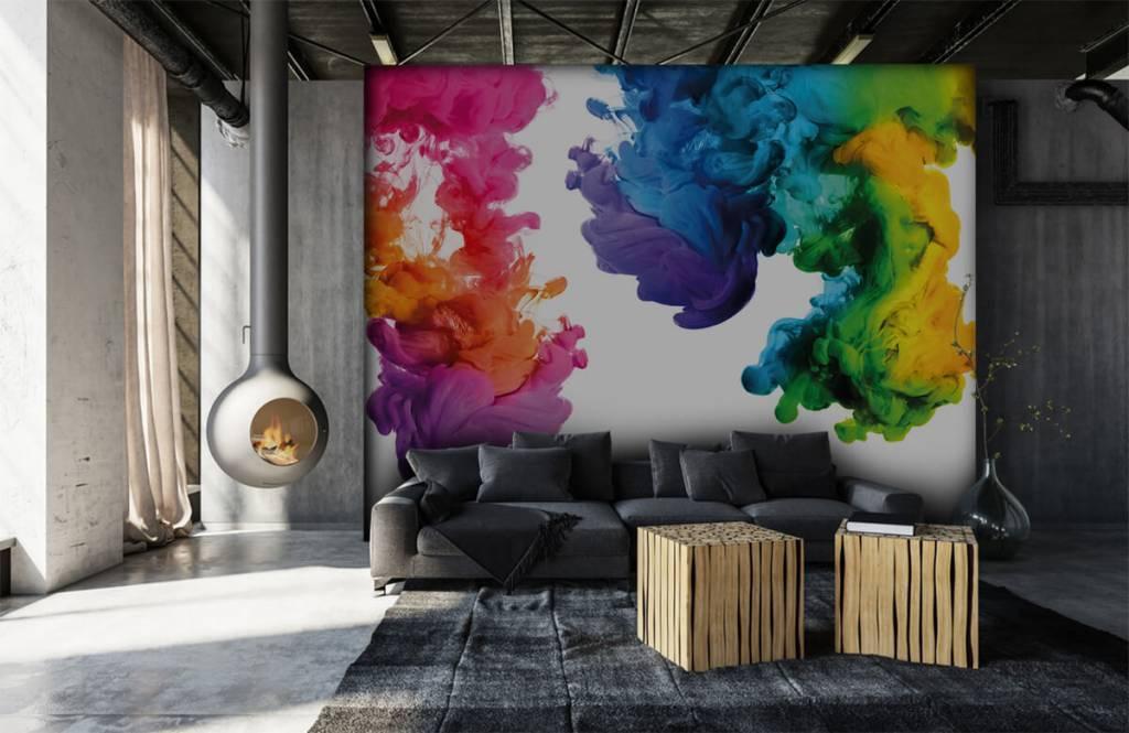 Abstract - Colored smoke - Hobby room 7