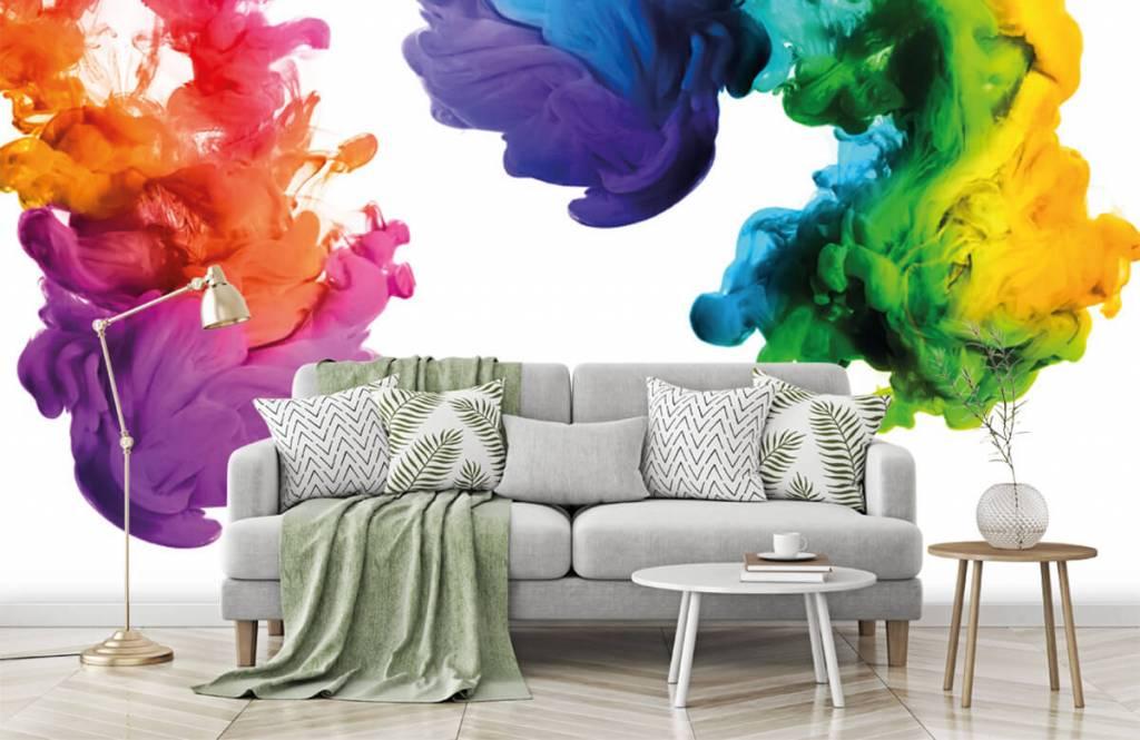 Abstract - Colored smoke - Hobby room 8