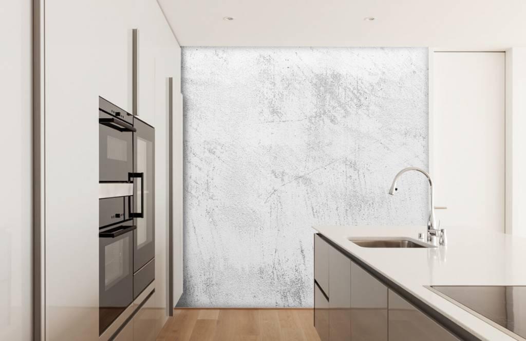 Concrete look wallpaper - Sanded concrete - Living room 5
