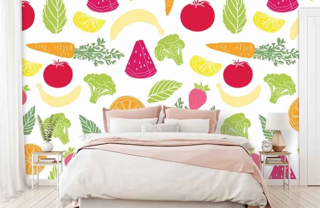 Other - Getekend groente en fruit - Kitchen 2