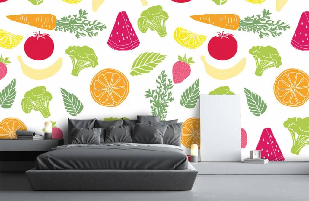 Other - Getekend groente en fruit - Kitchen 3