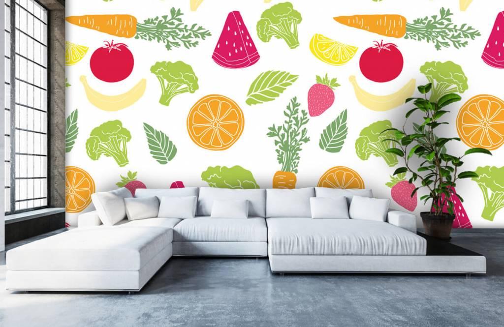 Other - Getekend groente en fruit - Kitchen 4