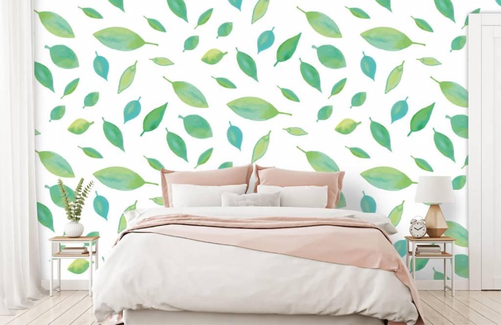 Leaves - Drawn leaves - Hobby room 1