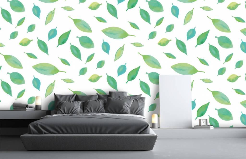 Leaves - Drawn leaves - Hobby room 2