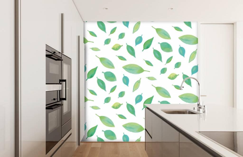 Leaves - Drawn leaves - Hobby room 3