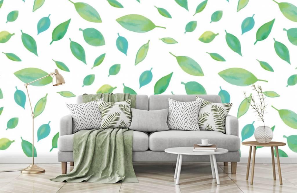 Leaves - Drawn leaves - Hobby room 7