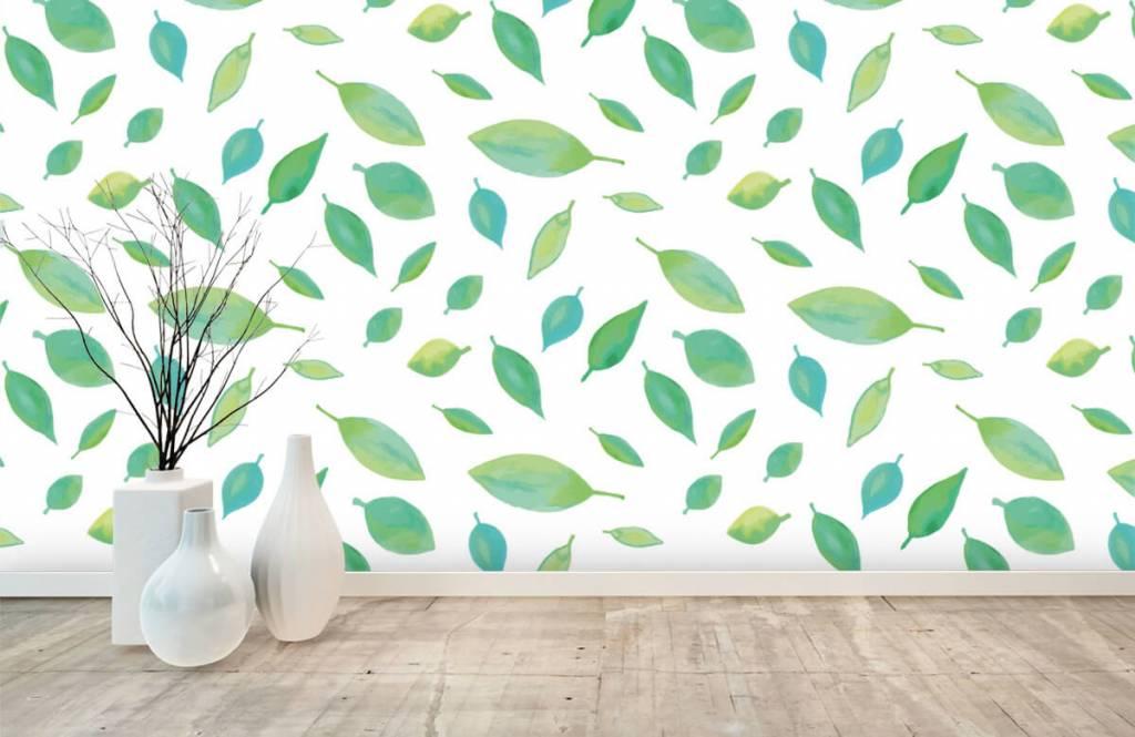 Leaves - Drawn leaves - Hobby room 8