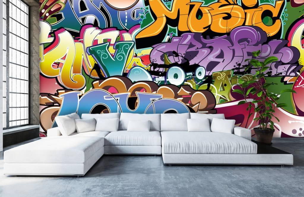 Graffiti - Signed graffiti - Teenage room 1
