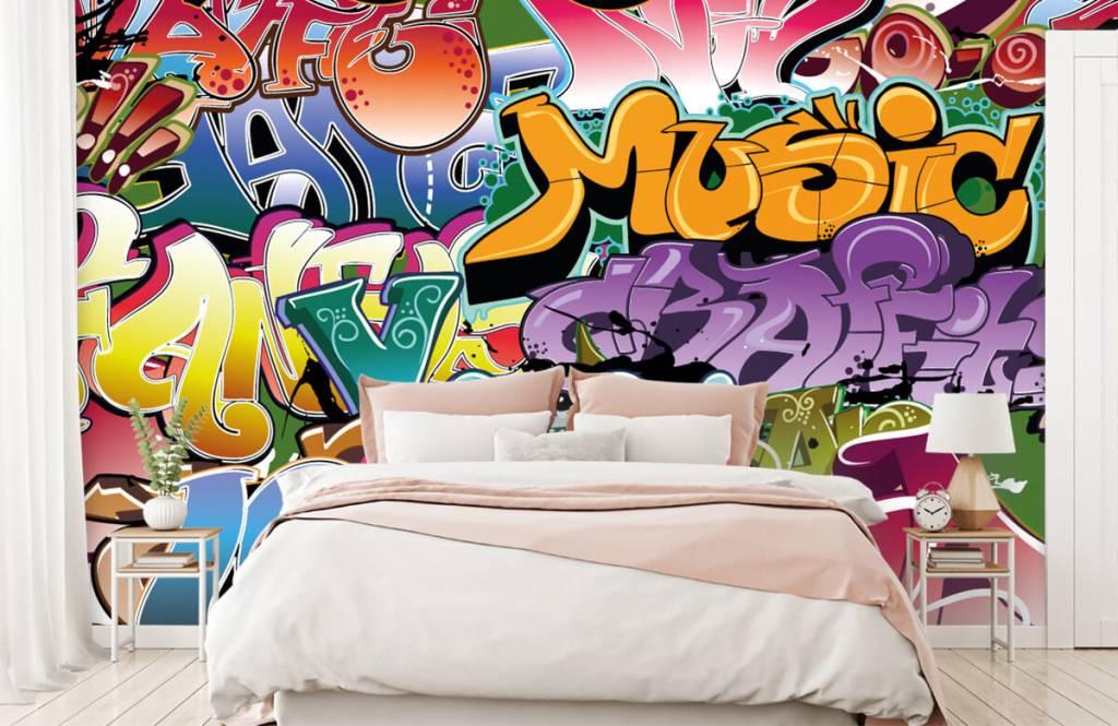 Graffiti - Signed graffiti - Teenage room 2