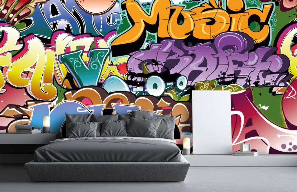 Graffiti - Signed graffiti - Teenage room 3
