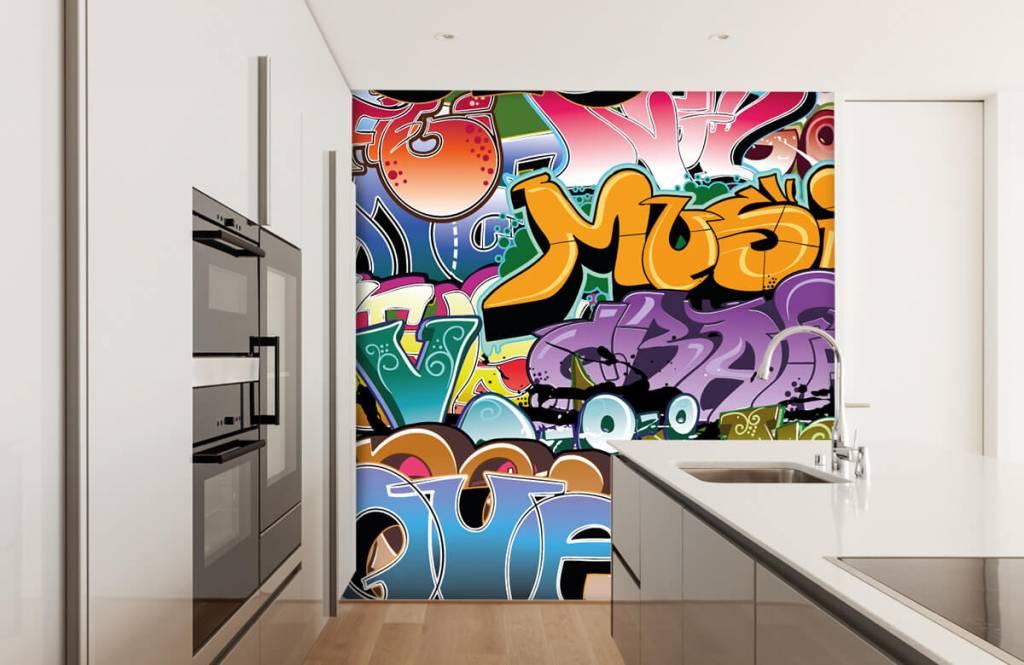 Graffiti - Signed graffiti - Teenage room 4