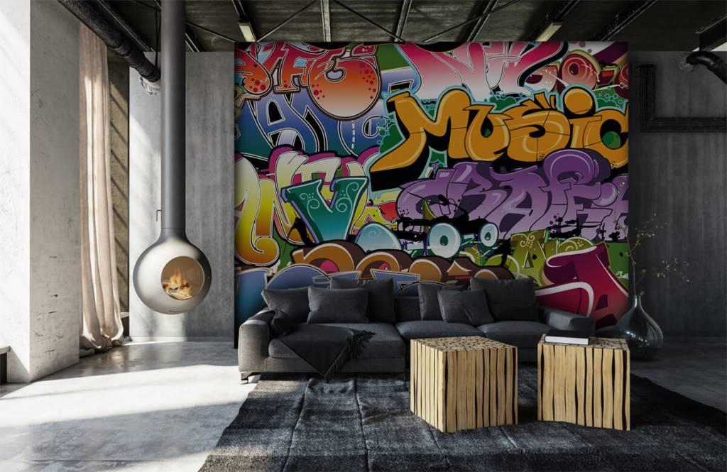 Graffiti - Signed graffiti - Teenage room 6