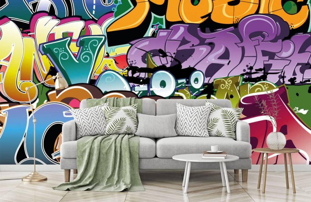 Graffiti - Signed graffiti - Teenage room 7