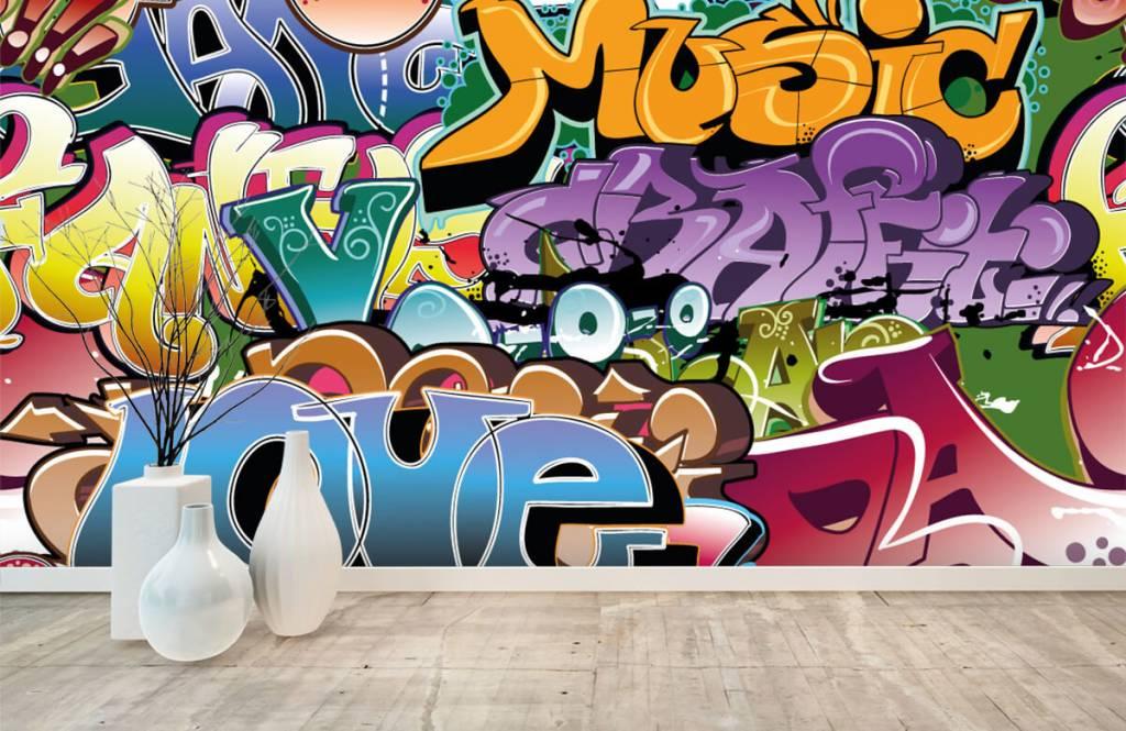 Graffiti - Signed graffiti - Teenage room 8